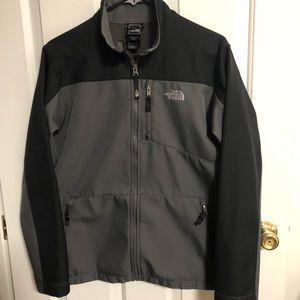 The North Face Boys Grey/Black Jacket XL 18-20